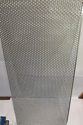 20 Ga. 14 Hole 304 Stainless Perforated Sheet----6-78 X 11-12