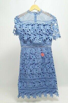 Willow Dress Damen Spitzen Kleid Kragen blau Gr. 38 #2439 (Willow Kleider)
