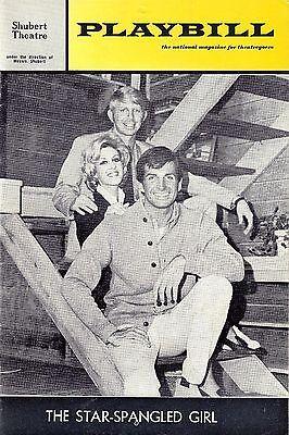 "George Hamilton ""STAR-SPANGLED GIRL"" Neil Simon 1968 Boston Playbill"