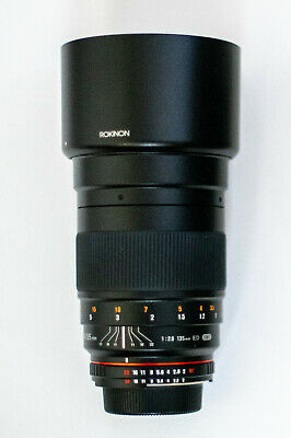 Rokinon 135mm F2.0 ED UMC Telephoto Lens for Nikon