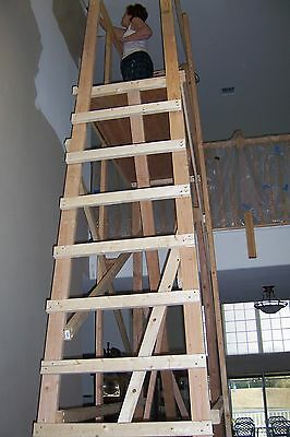 Making A Scaffold For Painting High Ceilings Ebay