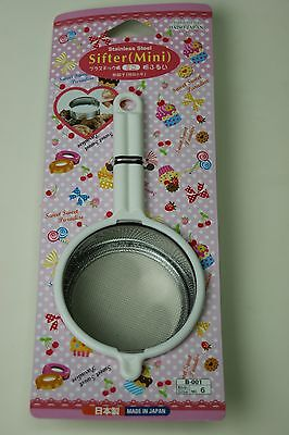 DAISO JAPAN Stainless Steal Mini Strainer Small Sifter Japan Made