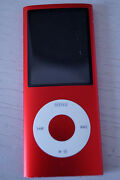 iPod Nano 4th Generation 8GB Red