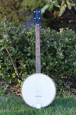 Gretsch 4 String Banjo Vintage 1948/1949 Instrument w/ Chipboard Case-Free Ship