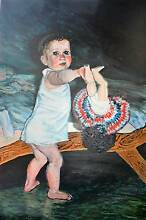 Shiftworker's Baby - Original Painting by Jane Ianniello Jindalee Brisbane South West Preview