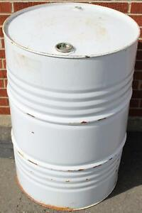 58 Gallon Food Grade Steel Drums BBQ, Smoker, Liquid Storage