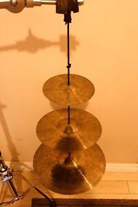 "Hammerax Tree 3 Ultraviolet Cymbals. 6"", 9"" & 12"""