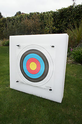 New Lightweight Archery 60x60cm Self Healing Foam Target Boss **Free Postage**