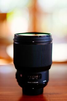 Sigma 85mm 1.4 ART for Nikon F Mount - with B+W Filter