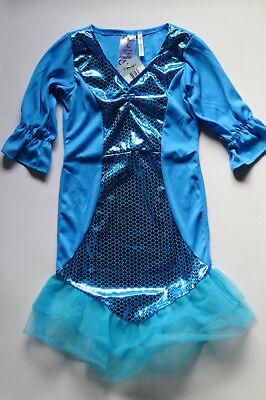 Meerjungfrau - Kostüm, Karneval, Fasching, Kinder, Größe S, - Kleine Meerjungfrau Kostüme