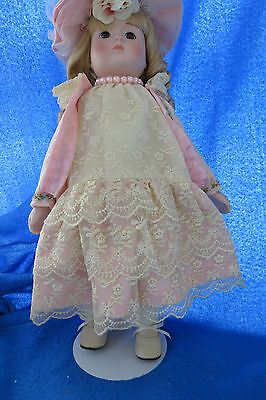 PINK PEARLS by MARIAN YU Collection LIMITED EDITION Porcelain Doll
