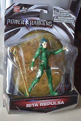 Power Rangers 2017 Rita Repulsa Movie Figure Action Figure Green Ranger NEW