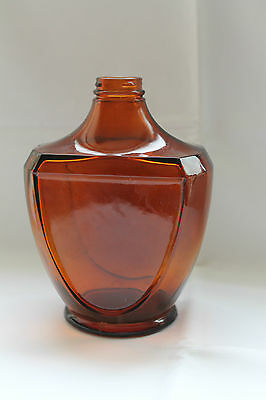 Antike Apothekerflasche Glasflasche Glasflakon Braunglasflasche Apothekergefäß