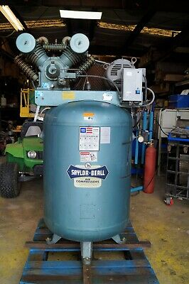 Saylor-beall Industrial Air Compressor. Vt-755-120. 3 Phase. 230460v.