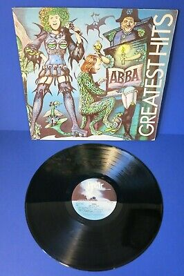 1975 1ST ISSUE LP ~ ABBA GREATEST HITS ~ Gatefold SWEDEN Very Good (VG) POLS 266