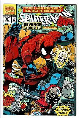 Spider-Man #23 1992 VF+ (Revenge of the Sinister Six Conclusion) (Spider Man Revenge Of The Sinister Six)