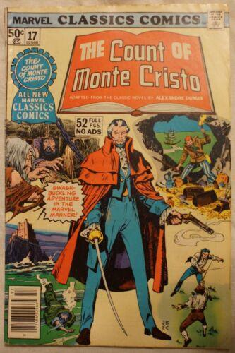 Marvel Classics Comics #17 COUNT OF MONTE CRISTO (1977, Marvel)