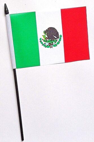 Mexico Small Hand Waving Flag