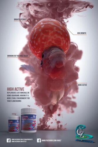 High active thai minerals for flowerhorn, koi, fish (vitamins & minerals)