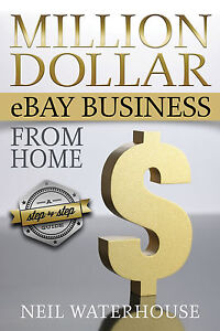 New-How-to-Make-Money-on-eBay-Book-Neil-Waterhouse-Online-Home-Business-Sell