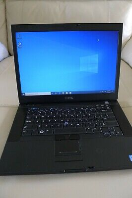 Dell Notebook - E6500 T9900 3.06GHz 250gb HD 4gb Ram Windows 10