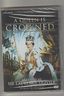 A Queen Is Crowned UK movie dvd sealed.