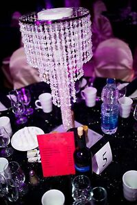 Decor elements for event : black and gold