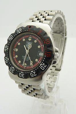 Tag Heuer Formula F1 WA1214 MidSize Swiss Quartz Stainless Steel Watch