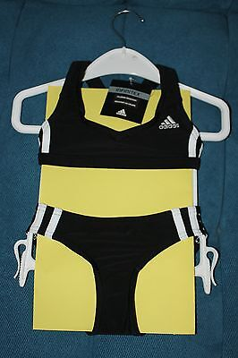 adidas Bikini für Mädchen, NEU , Gr. 104, sportliche Badebekleidung, Infinitex