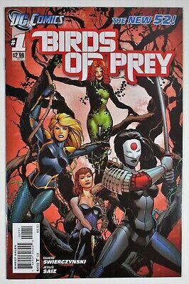 Birds of Prey #1 NM- New 52 Swierczynski DC Comics