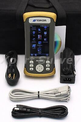Topcon Fc-500 Field Controller Data Collector Pocket 3d V12.2.1472 Gps Topconrtk