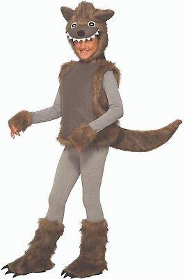Toddler Child Wee Wolfie Wolf Animal Costume