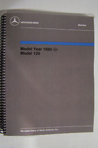 Mercedes 300 sl 500 sl Owners Service Manual Part w129 workshop repair technical