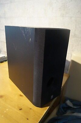 YAMAHA SW-P201 active powered subwoofer sub box Powered Sub-box
