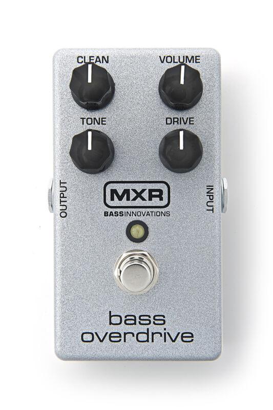 Used MXR M89 Bass Overdrive Bass Guitar Effects Pedal