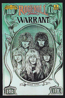 Rock 'n' Roll Comics #10 VF+ Whitesnake 1st printing 1990