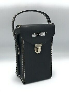 Vintage Amprobe Model A Leather Case Only Rare For Ultrasonic Diagnostic Tool