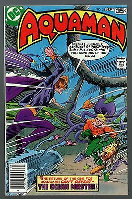 Aquaman (1962) #63 VF+ (8.5) Ocean Master cover & appearance last issue