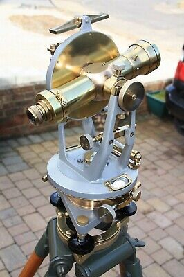 Vintagetheodolitesurveyors Watts Transit Surveying Instrument Antique.