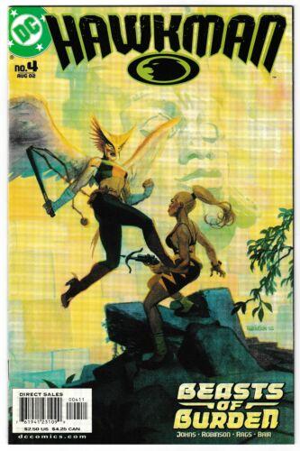 2002 HAWKMAN #4, 5, & 6 LOT OF 3 DC COMIC BOOKS