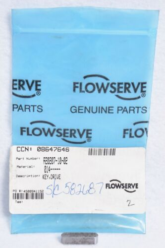 OEM Flowserve Gear Pump Drive Key A20207-10-02 582687