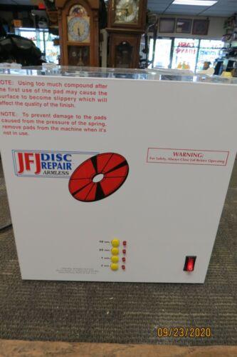 JFJ DUAL DISC REPAIR & CLEANING MACHINE FOR CDS DVDS GAMES