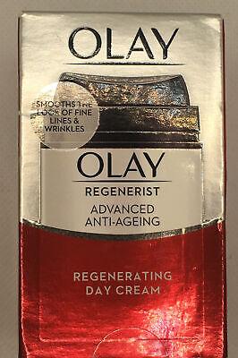 OLAY REGENERIST ADVANCED ANTI AGEING REGENERATING DAY CREAM 50ml New - (963)