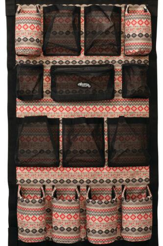 Weaver Trailer Hanging Grooming Bag-Open and Mesh Pockets, 65-2090,Cri Aztec