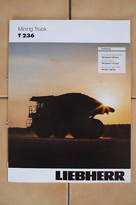 Liebherr Baumaschinen Prospekt Liebherr Mining Truck T 236