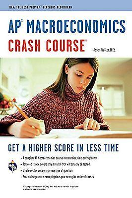 Ap Macroeconomics Crash Course Book   Online  Advanced Placement  Ap  Crash C