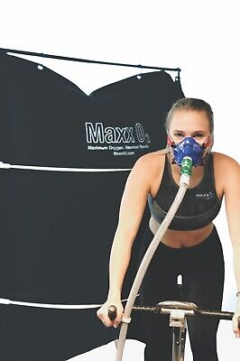 Maxx O2 EWOT Exercise With Oxygen Therapy Delivery System & Mask Oxygen Delivery Systems