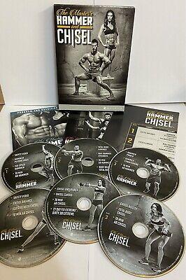 HAMMER & CHISEL DVD BOX SET FITNESS EXERCISE SEALED GYM BEACHBODY FIT...
