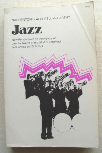 NEW PERSPECTIVES ON THE HISTORY OF JAZZ 1975 (orig 1959) Da Capo Nat Hentoff