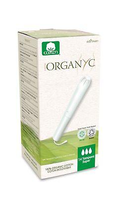 Organ(y)c - Feminine Tampons with Applicator - Super - 14 count